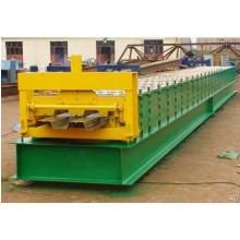 Bodendeck-Rollformmaschine