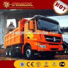 toneladas de caminhões basculantes BEIBEN marca rolamento do caminhão basculante para venda marcas de caminhão basculante