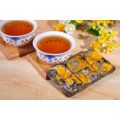Chocolate Type PU Er Tea with Golden Chrysanthemum Flower Flavor in Gift Box