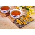 Шоколад типа пу эр чай с ароматом цветок золотой хризантемы в подарочной коробке