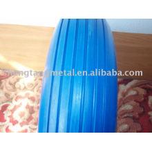 multicolor PU foam rubber wheel 4.80/4.00-8