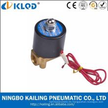 2W025 Mini tipos de válvula solenoide de agua barata 220V AC