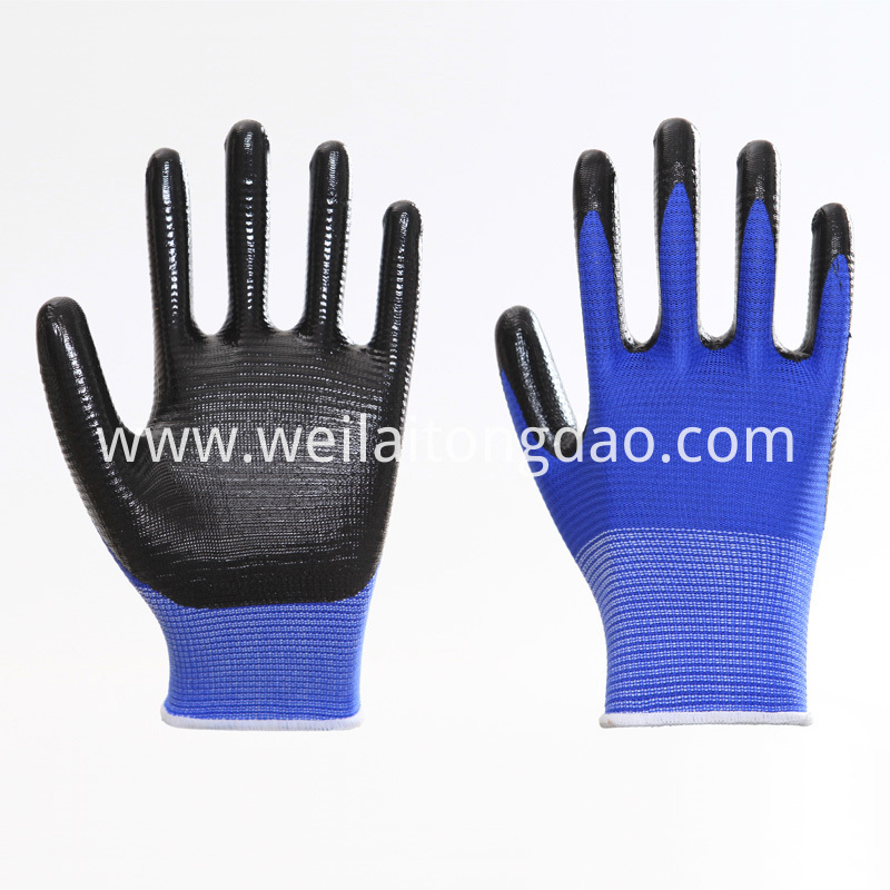 Industrial Knitted Cotton Working Safety Gloves