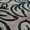 Types of Sofa Material Fabric by Black Chenille Woven Fabric