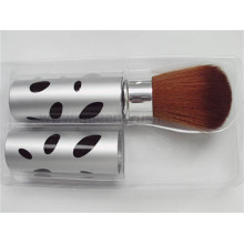 Cepillo de cepillo cosmético de alta calidad con pincel retráctil