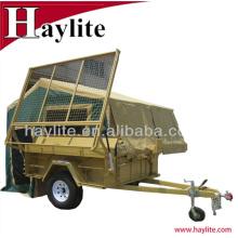Remolque camper campo a través de acero del acoplado del campista del ATV