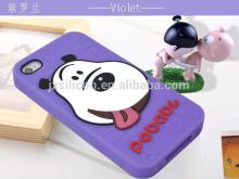 Cartoon style Silicon Cell Phone Case with Customized Logo