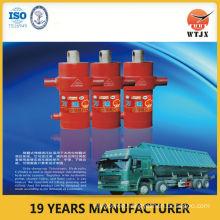 side-dumping telescopic hydraulic cylinder/heavy cylinder used for dump trucks
