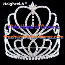 Heart Rhinestone Crowns In Hot Selling