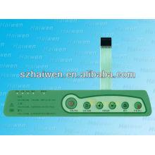 FLAT LED interruptor de teclado de membrana