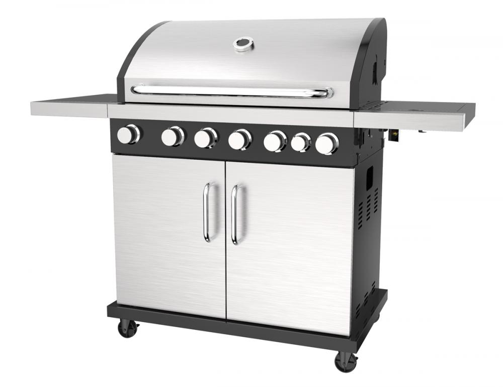 6 &1 Gas Barbecue Grill