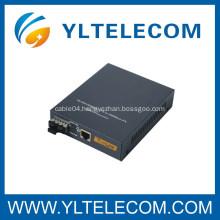 10/100M/1000M Single-mode Fiber Optic Media Converter