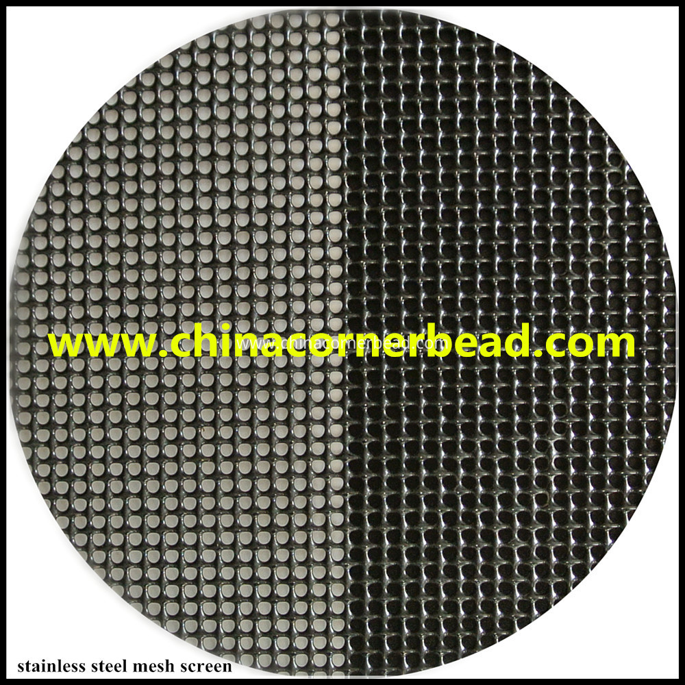 stainless steel mesh screen security screem wire mesh window insect screen mesh fiberglass wire mesh window screen