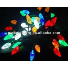 Светодиодные Рождественские огни многоцветный С7 земляника,светодиодные строки света