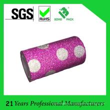 Cinta adhesiva modificada para requisitos particulares del holograma del precio de fábrica para el envoltorio para regalos