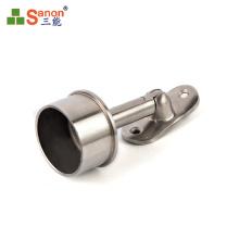 Stainless Steel Handrail Accessories Adjustable Handrail Support Bracket Industrial Railing Accessories
