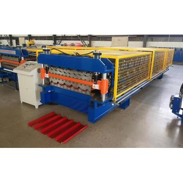 doubl layer EU Tr18 roll forming machine