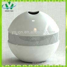 Mordern Wohnkultur Silber Keramik Vase aus China