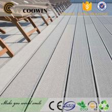 Varanda impermeável antiderrapante madeira wpc decking underlay