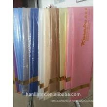 T / C 80 * 20 45 * 45 110 * 76 tecido de revestimento do bolso a preço barato