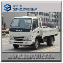 88HP Kama Light Truck 4X2 Light Dump Truck