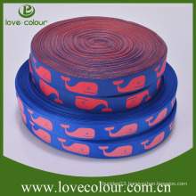 Custom Wholesale Jacquard Embroidery Ribbon Woven Cloth Ribbon