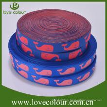Пользовательские Оптовая Жаккардовые ленты вышивки сплетенные ткани