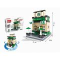 Construcción de bloques de niños juguete de bricolaje (h9537099)