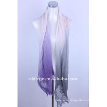 gradual changing scarf