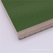Green 48 hour boiling water proof with pp layer plywood/ Phenolic plastic faced plywood