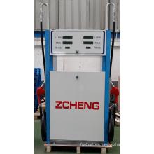 Zcheng gasolinera dispensador de combustible de la serie de triunfo de la bomba dos con alto tubo