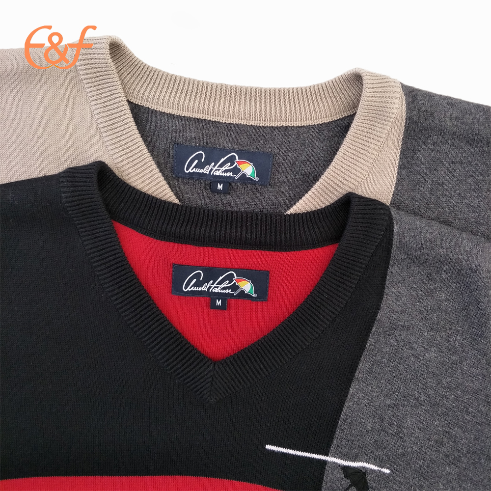 Fashion v neck sweater