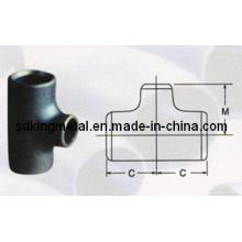 T de aço carbono reto (ASME B16.9-1993)