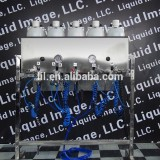 liquid image small silver spray on chrome plating machine for new starter