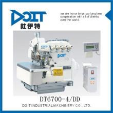 DT 6700-4 / DD Direct entraînement à quatre fils overlock couture pantalons faisant la machine