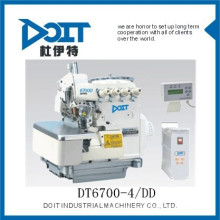 DT 6700-4 / DD Direto de quatro thread overlock costura calças que fazem a máquina