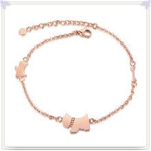 Aço inoxidável jóias pé cadeia moda tornozeleiras (ch013)