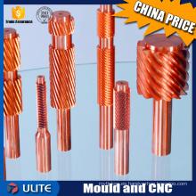 2016 Venta caliente CNC de latón de mecanizado, CNC Turnining de mecanizado para piezas eléctricas