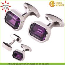 Kundenspezifischer Metallmanschettenknopf für Männer und Frauen