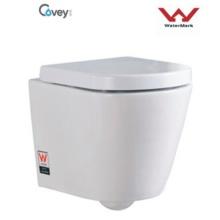 Настенный унитаз без цистерны / водяного знака Стандартный туалет (CVT6013)