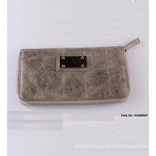 Newest Women Fashion Money/Coin/Card Wallet with Logo (HAW0467)