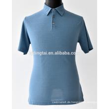 100% Baumwolle Männer lässige Polo T-Shirt