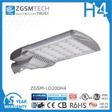 Réverbère bon marché de 200W LED avec des puces Philips Lumiled