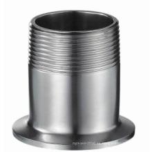 304 / 316L Tuerca de rosca sanitaria de acero inoxidable (IFEC-TN100001)