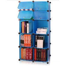 DIY Book Shelf, Blue, Wall Cube Storage (FH-AL01027-4)