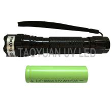 UV Light Flahslight Uses 405nm 3W