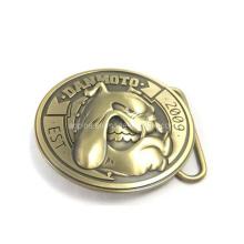 Boucle de ceinture 3D en bronze antique (Boucle de ceinture-009)