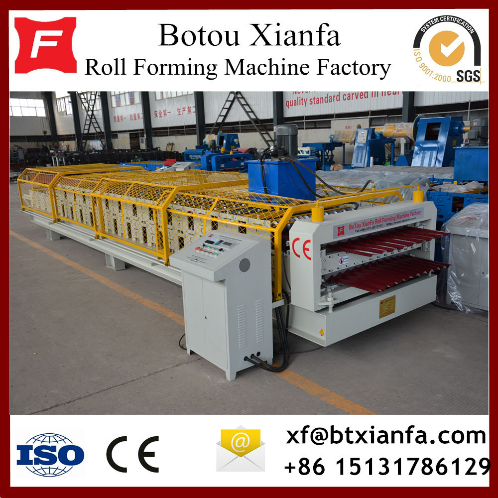 Corrugated Double Layer Roll Forming Machine
