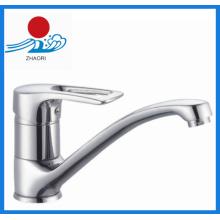 Robinet de mélangeur à robinet d'évier de cuisine à bec long (ZR21105)