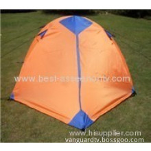 Outdoor Camping Tent Aluminum Rod Double Layer Camping Hiking Tents